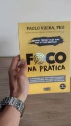 """Livro """"Foco na prática"""" - Paulo Vieira"""