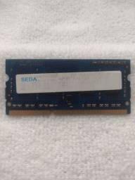 Memória RAM DDR3 de 2GB para Notebook