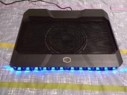 Base Cooler Notebook Gamer Cooler Master Notepal X150r em excelente estado