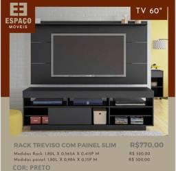 Título do anúncio: Rack com Painel Slim #Entrega e Montagem Grátis
