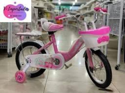 Título do anúncio: Bicicleta aro 16 com rodinhas de LED mega oferta