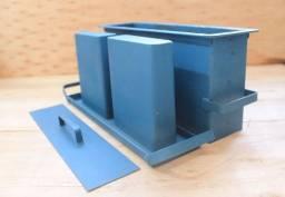 Título do anúncio: Forma bloco concreto 9x19x39 chapa 14 1.9mm
