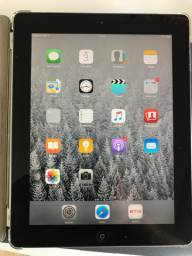 iPad 2 apple 16gb wifi + gsm completo com capa e case