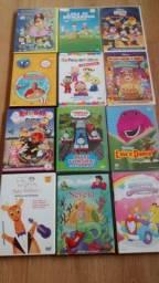 Diversos DVD's para criança