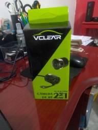 Câmera de re veicular 2 em 1