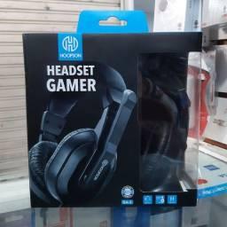 Título do anúncio: Fone Gamer Headset P2 PS4, Xbox one, Smartphone / Hoopson GA-5