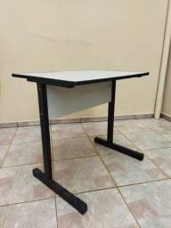 Título do anúncio: Mesa para computador 0,80X0,60 cor cinza - usada