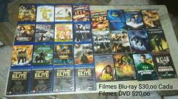 Filmes DVD blu-ray valor na foto