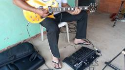 Guitarra les poul Golden
