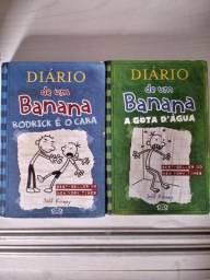 Livros Diário de um Banana (2° e 3°)