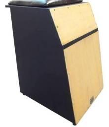 Cajon elétrico e Pedal Stompbox bump