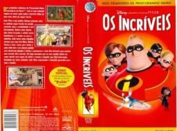 VHS Os Incríveis (lacrado)