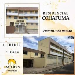 Apartamento à venda com 1 dormitórios em Cohafuma, São luís cod:AP00004