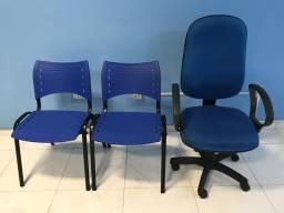 Cadeiras p/ escritório