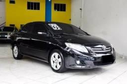 Corolla XEI 1.8 sedan preto 2009/10 - 2009