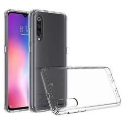 Capa Antishock e Impacto para Xiaomi Mi 9 se com quinas protetoras