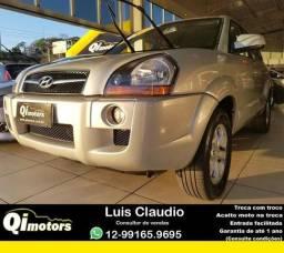 Hyundai - Tucson 2.0 (Aut) (Flex) - 2014 - Aceito seu carro na troca/Avaliação justa - 2014