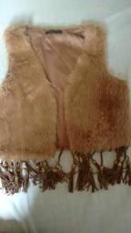 Jaqueta de pêlos 50 reais pra vender hoje!!!
