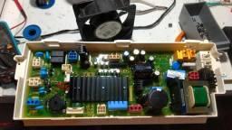 Conserto de placas de máquinas de lavar,de geladeira, microondas e AR