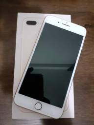 Iphone 8 plus 64gb dourado / rose gold