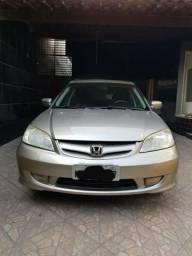 Vendo Honda Civic 2006/2006 Dourado 1.7 completo,Doc em dia 2019 - 2006