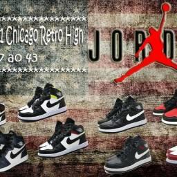 Tênis Air Jordan cano alto na Black Friday
