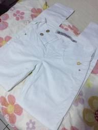 Calça branca Handara
