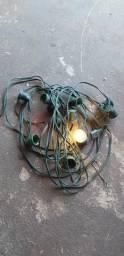 Extensão de lâmpadas para luz de Natal