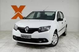 Renault LOGAN Authentique Hi-Flex 1.0 16V 4p - Branco - 2015 - 2015