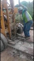 Máquina de poço percursora