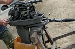 Motor popa 25hp evinrude 98 - 1998