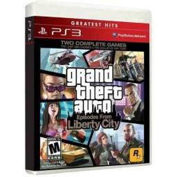 Gta Grand Theft Auto Episodes Liberty City - Midia Fisica Novo Original e Lacrado - Ps3