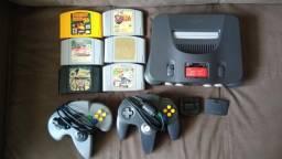 Nintendo 64 completo barbada
