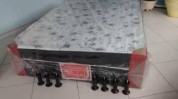 Mega Promoção!! Box Casal 7Cm Espuma Selada D45 _ Frete Grátis