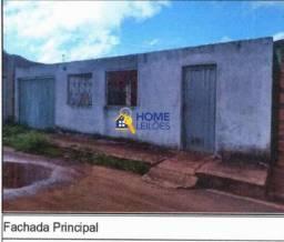 Casa à venda com 2 dormitórios em Conj airton senna, São domingos do maranhão cod:55470