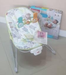 Cadeira vibratória Fisher Price até 11kg - NOVA SEM USO
