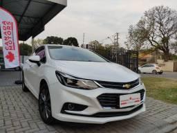 Cruze LTZ 2018 1.4 turb. aut. top de linha,manual e chave copia,periciado,novo!
