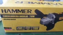 """Esmerilhadeira HAMMER 4 1/2"""" 710W"""