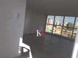Flat com 1 quarto, nascente, vista p/ o mar, R$ 190.000 - Ponta de Campina - Cabedelo/PB