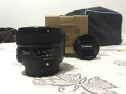 Lente 35mm f/2 Yongnuo p/Nikon