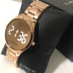 Relógio Lince Led Digital Espelhado de R$ 299,90 por R$ 239,90