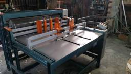 Máquina de corte e vinco rotativa nova
