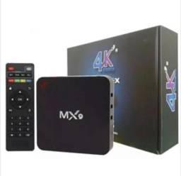 TV box Mx9 produto novo 4gb 4k