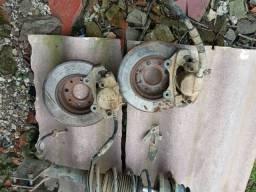 Pinça e disco de freio pálio, siena, strada