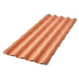 Telhas PVC sob medida telhado novo
