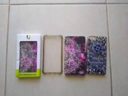 Doação capinhas usadas e uma nova do celular ZenFone 4Max