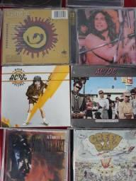 CD , s de rock nacional e internacional