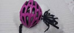 Capacete para ciclismo feminino