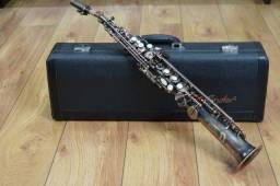 Sax Soprano Condor Css42a Antique Silver - Produto Novo - Loja Física