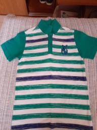 Camisas tamanho 6 anos